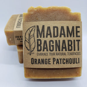 Orange Patchouli soap bar