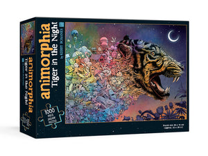 Animorphia Tiger puzzle 1000pc
