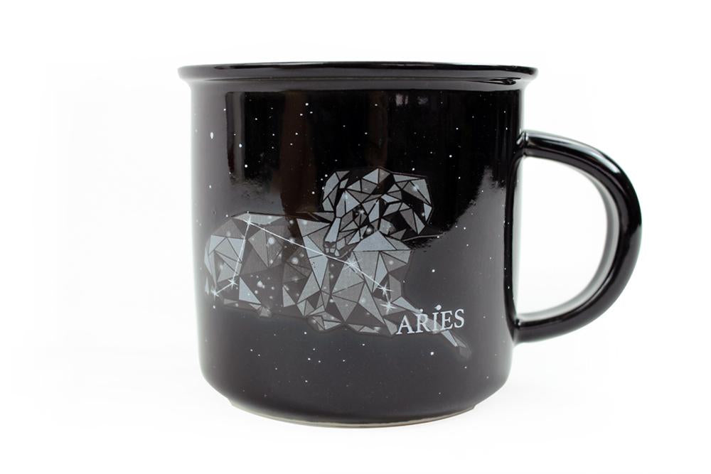 Aries astrology mug