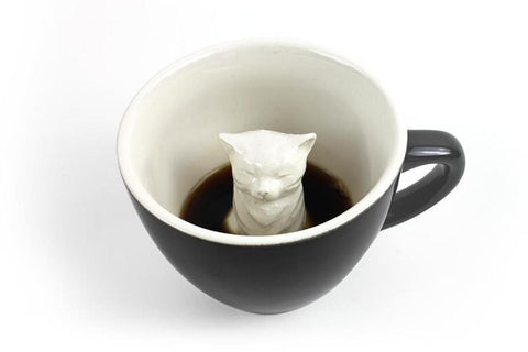 Cat creature cups