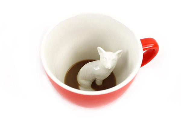 Fox creature cup