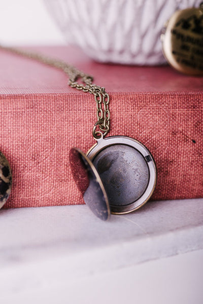 Moon locket