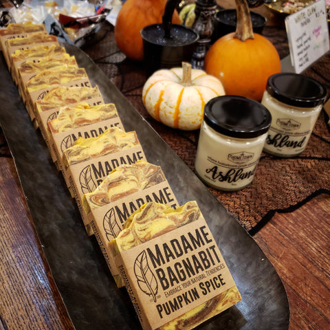 Pumpkin Spice soap bar