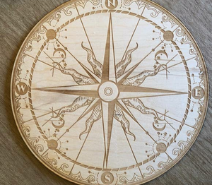 Compass crystal grid