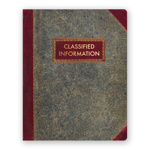 Classified Information notebook