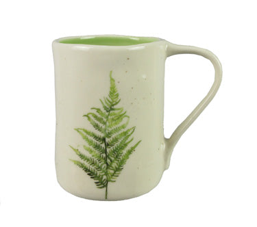 Fern speckled mug