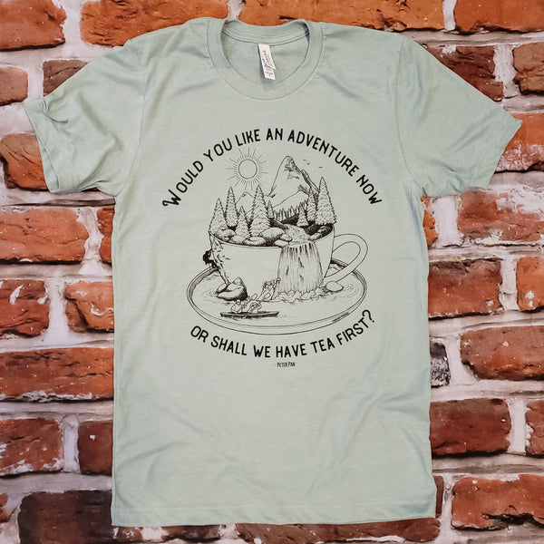 Adventure Tea unisex tshirt