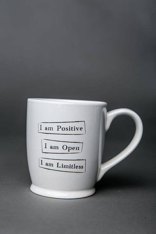 Mantra Mug - Positive Open Limitless
