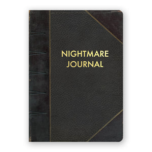 Nightmare Journal notebook