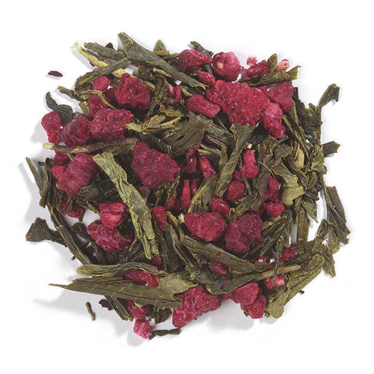 Raspberry flavored Green tea