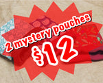 2 Mystery Pouches for $12