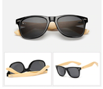 Bamboo Sunglasses Adults - 16 Retro Styles