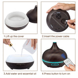 Aroma Air Freshener (cool mist maker) with remote control