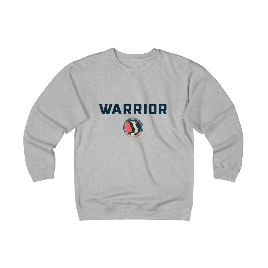 Warrior Unisex Heavyweight Fleece Crew