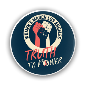 "Truth to Power Round Pin-Back Buttons, 1.25"" and 3"""