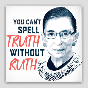 "RBG Pin-Back Buttons, 2"" square"