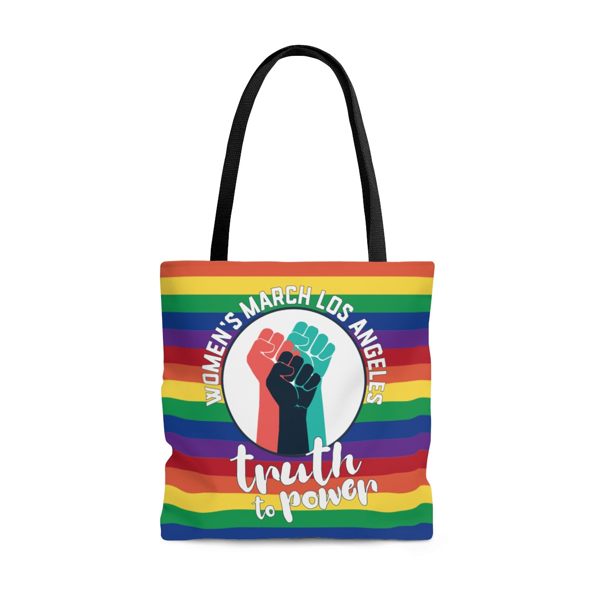 Truth to Power Rainbow Tote Bag
