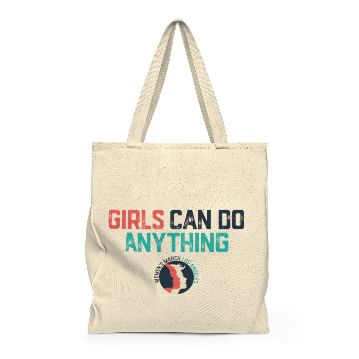 Girls can do anything shoulder Tote Bag - Roomy