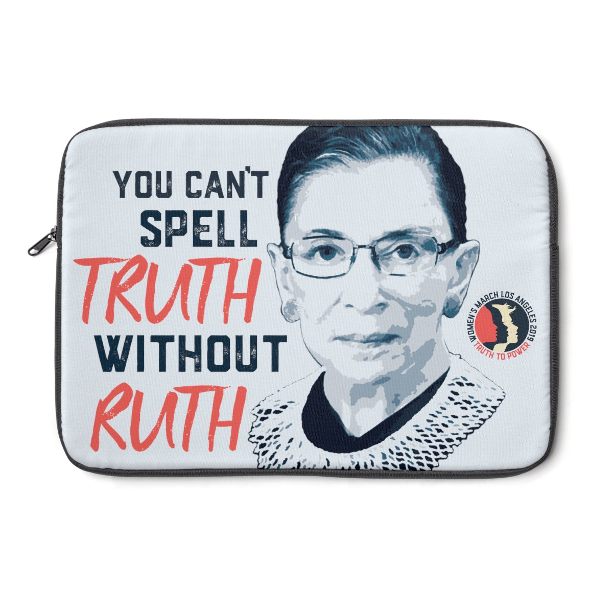 Women's March LA RBG Laptop Sleeve