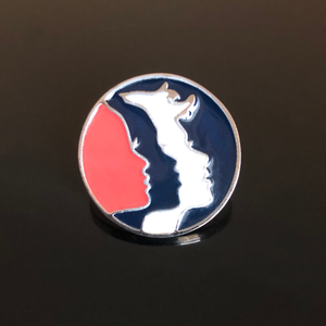 Women's March custom-made, one-of-a-kind enamel pin