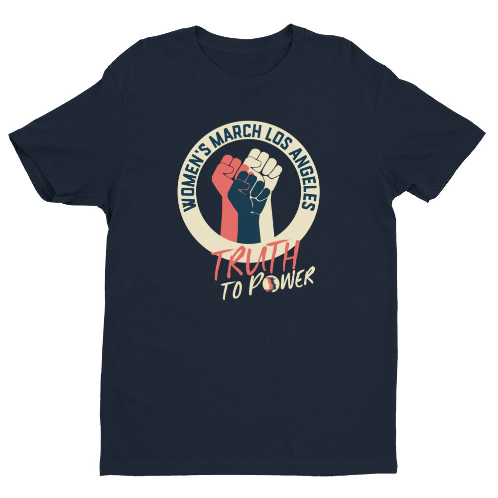 Women's March LA 2019 Official Short Sleeve Unisex Crew Neck T-shirt