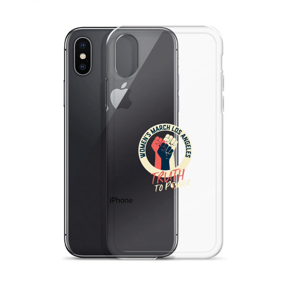 Truth to Power iPhone Case for dark phone
