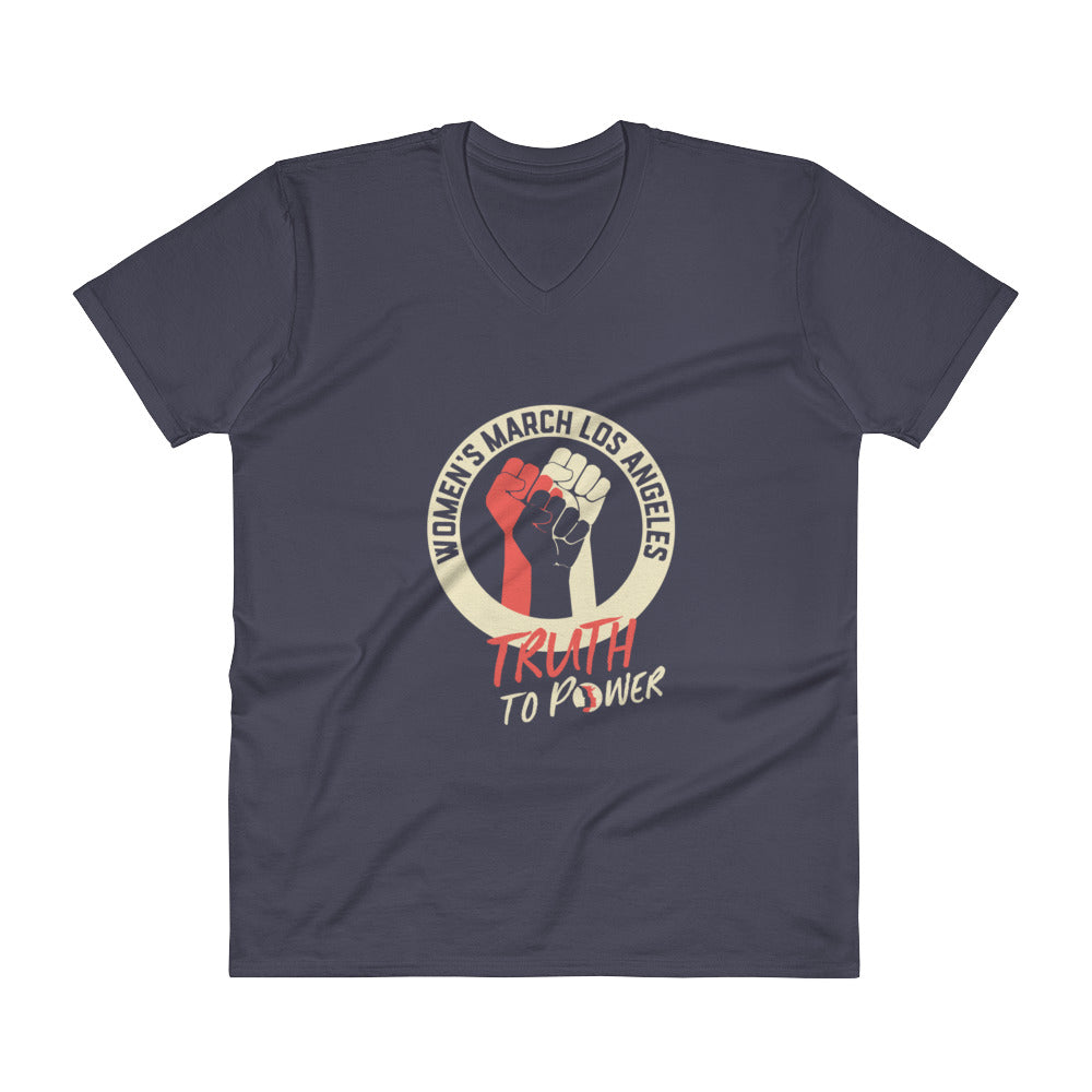 Truth to Power V-Neck T-Shirt