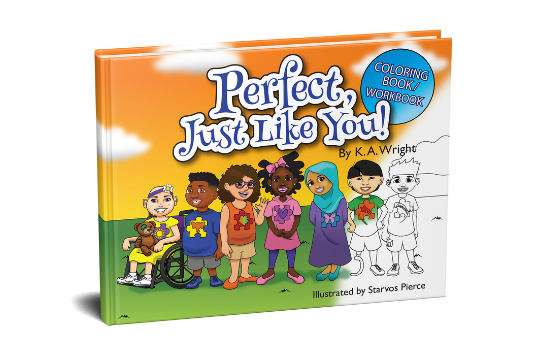 Perfect, Just Like You! Coloring Book/Workbook
