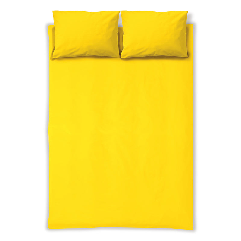 Solid Color - Fitted Sheet with Pillowcase(s)