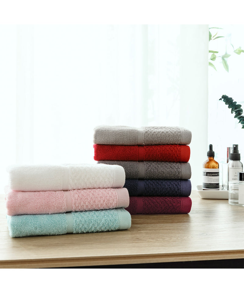 Anti-bacterial Solid Color Towel