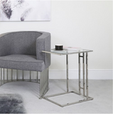 Stainless Steel Sofa Table