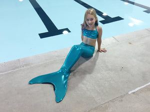 Teal Mermaid Tail Package