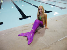 Load image into Gallery viewer, Purple Mermaid Tail Package