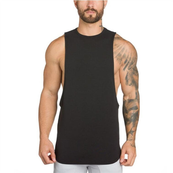 16dcceee Brand NO PAIN NO GAIN clothing bodybuilding stringer gyms tank top men  fitness singlet cotton sleeveless ...