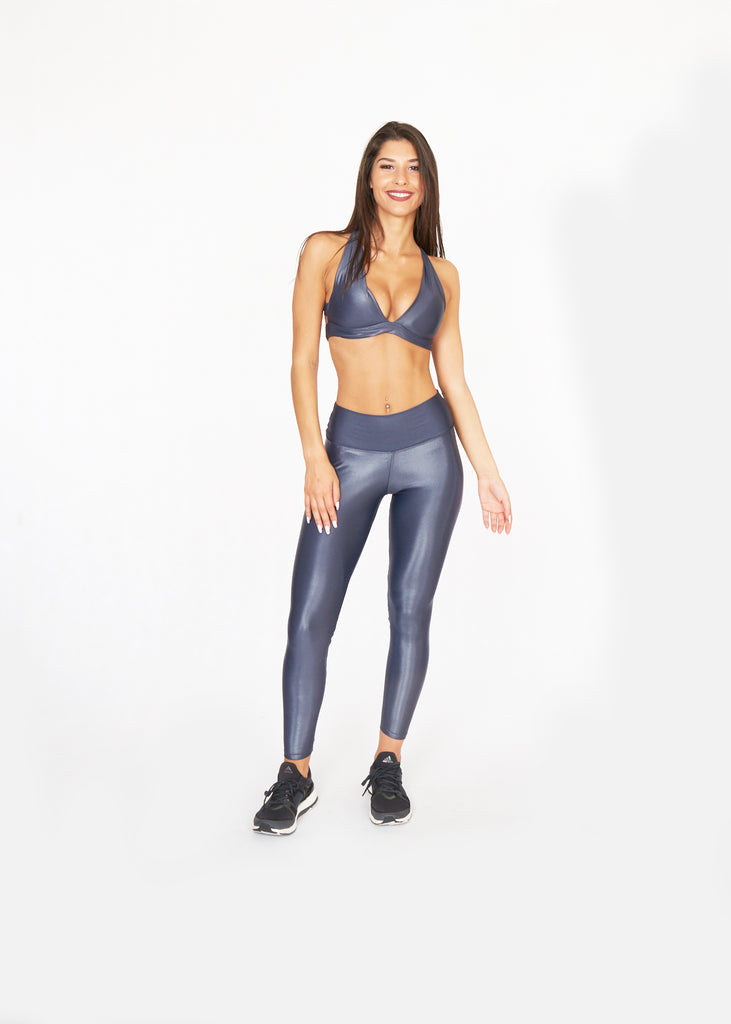 HiShine Tights Slate - Brava Body