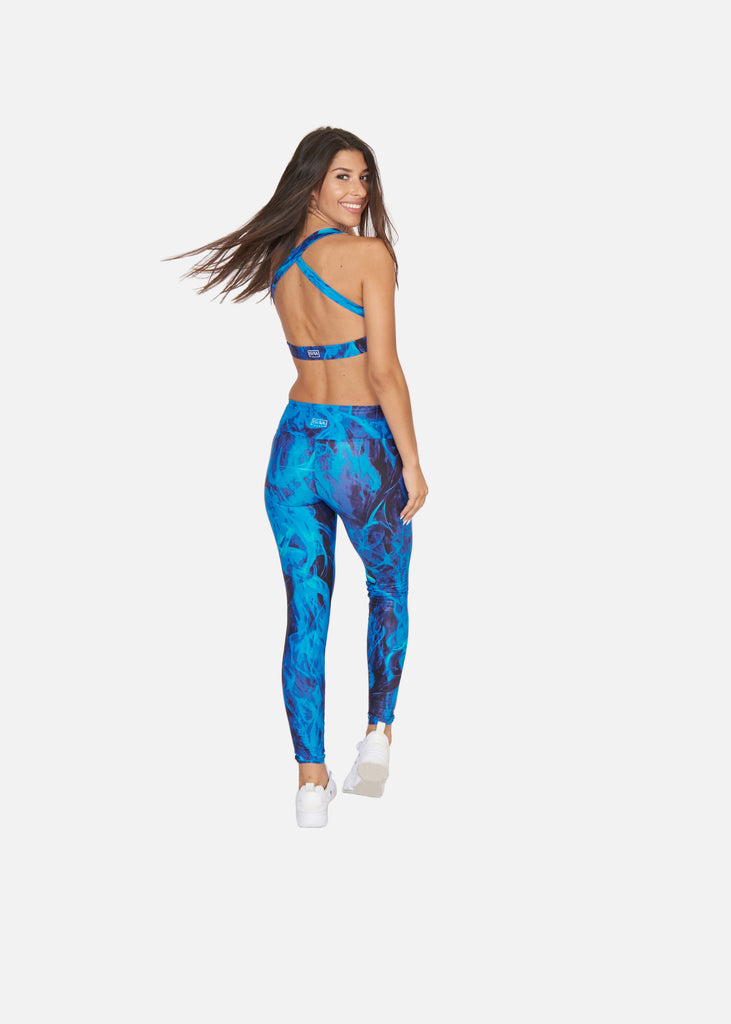 Blue Flame Tights - Brava Body