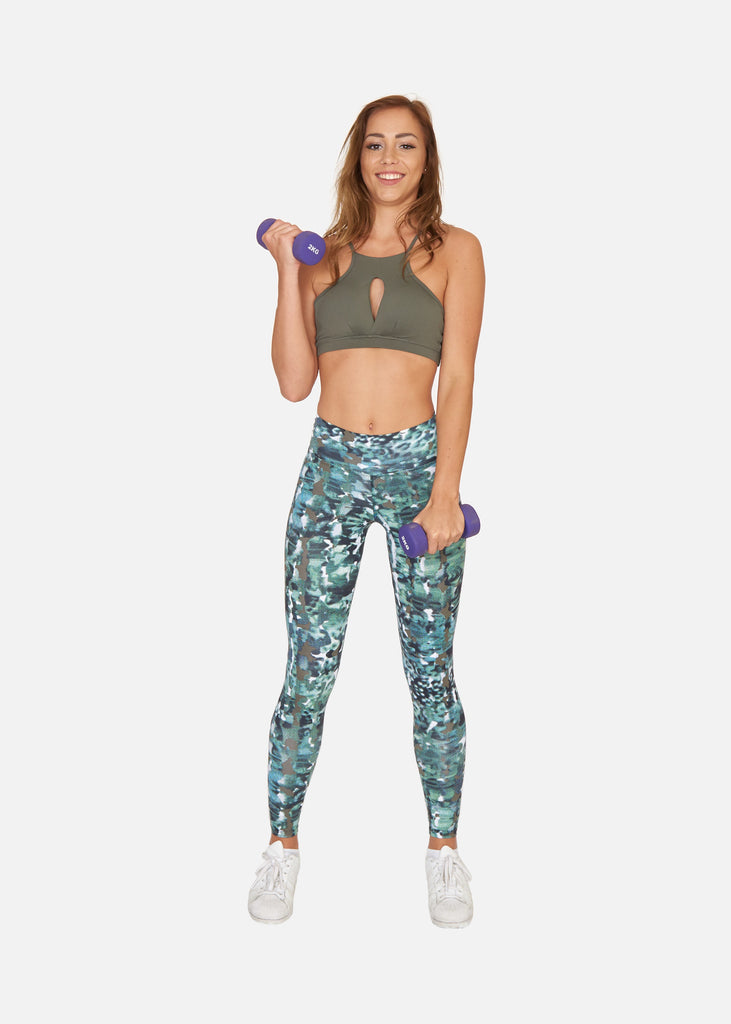 Reveal Top Kaki - Brava Body