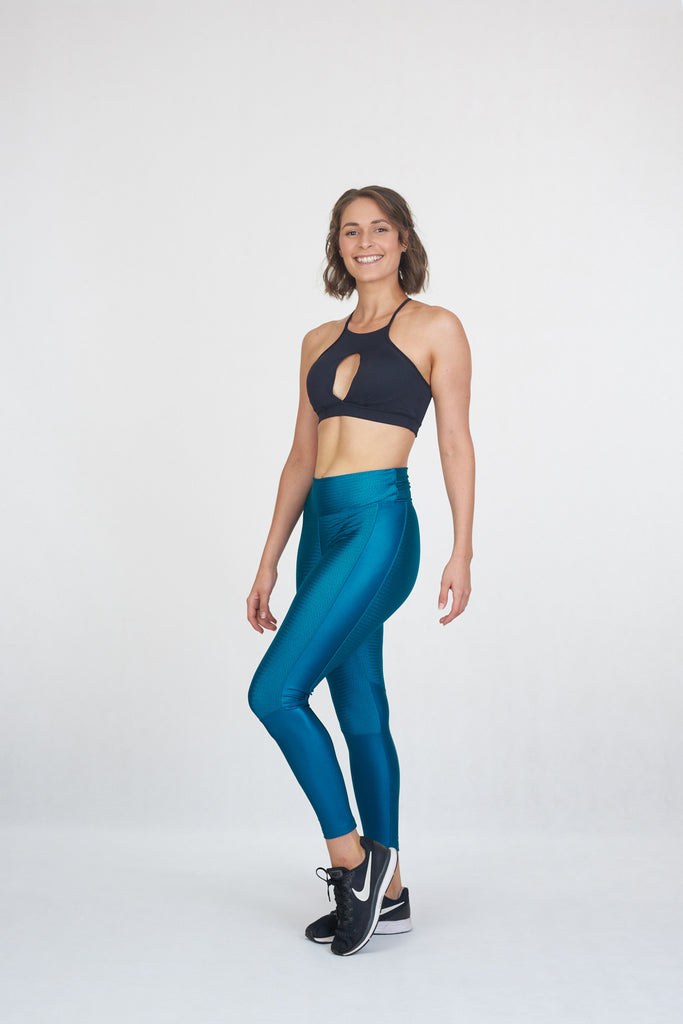Wonder Tights Teal - Brava Body