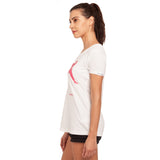 djbravo47 Celebration Tee Female White with Pink