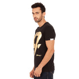 djbravo47 47 Tee Male Black with Gold