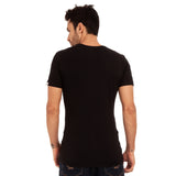 djbravo47 47 Tee Male Black with Red
