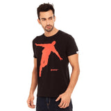 djbravo47 Celebration Tee Male Black with Red