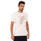 djbravo47 Celebration Tee Male white Wth Silver