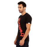 djbravo47 Logo Tee Male Black with Red