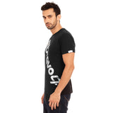 djbravo47 Logo Tee Male Black with Silver