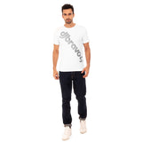 djbravo47 Logo Tee Male White with Silver