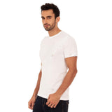 djbravo47 Signature Tee Male White with Silver