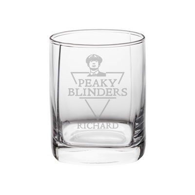 Personalised Peaky Blinders Whisky Glass