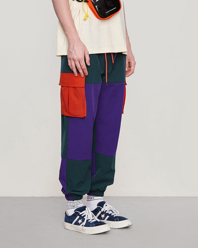 Geometric Patchwork Joggers