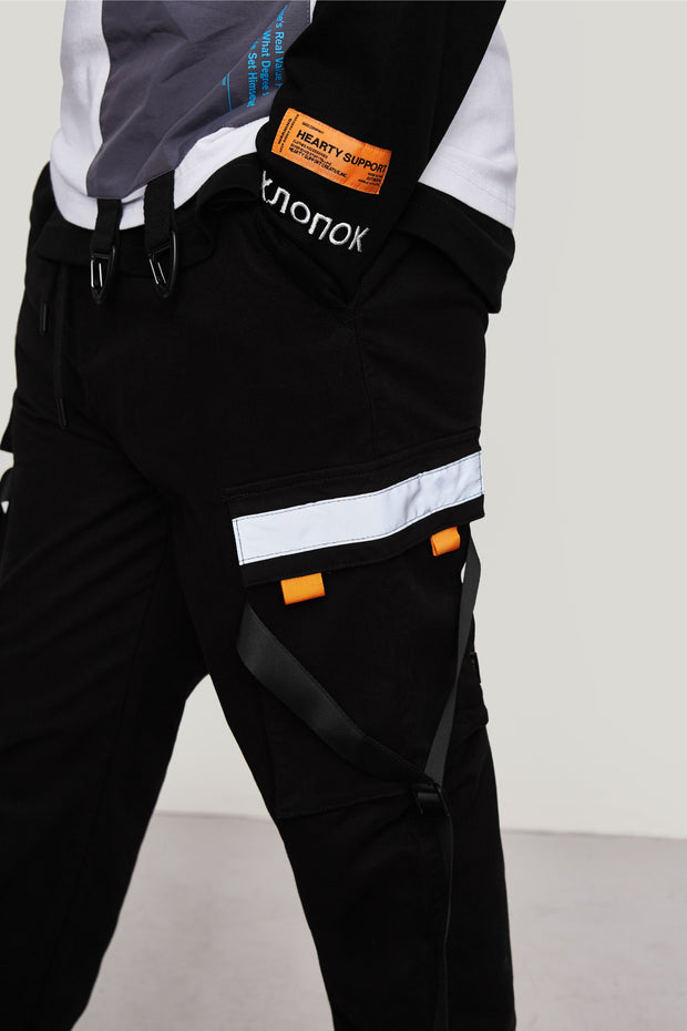 Industrial Obsidian Cargo Joggers